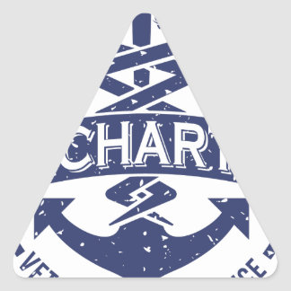 Uncharted Veterinary Conference Triangle Sticker