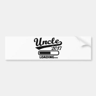 Uncle 2017 bumper sticker