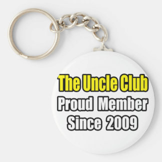 Uncle Club...Since 2009 Basic Round Button Keychain