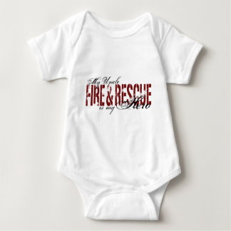 Uncle Hero - Fire & Rescue Baby Bodysuit