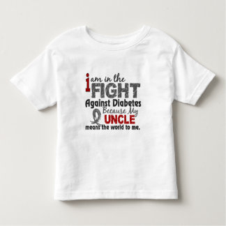 Uncle Means World To Me Diabetes Toddler T-shirt