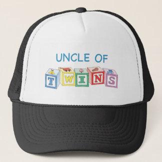 Uncle of Twins Blocks Trucker Hat