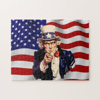Uncle Sam 1 Jigsaw Puzzle