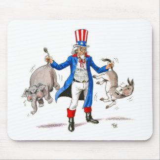 Uncle Sam 3 Mouse Pad