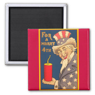 Uncle Sam - 4th of July Magnet