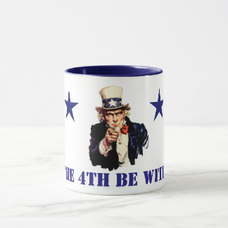 Uncle Sam 4th of July Mug