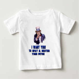 uncle sam blue baby T-Shirt