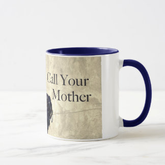 "Uncle Sam ""Call Your Mother"" Mug"