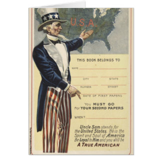 Uncle Sam Card