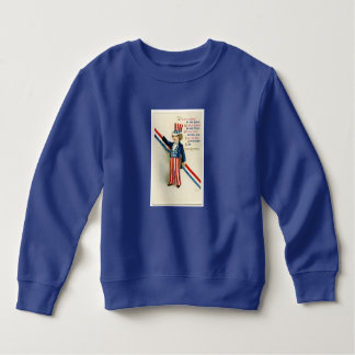 Uncle Sam Child Sweatshirt