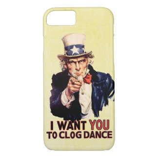Uncle Sam Clogging Dance iPhone 7 Case