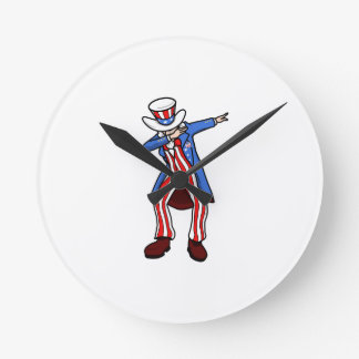 Uncle Sam Dab Clock
