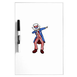 Uncle Sam Dab Dry Erase Board