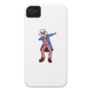 Uncle Sam Dab iPhone 4 Case-Mate Cases