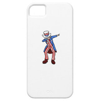 Uncle Sam Dab iPhone 5 Covers