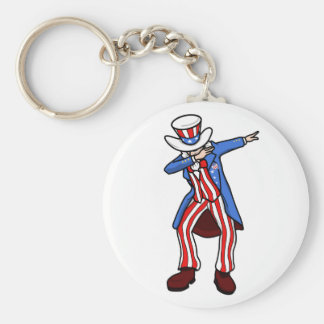 Uncle Sam Dab Keychain