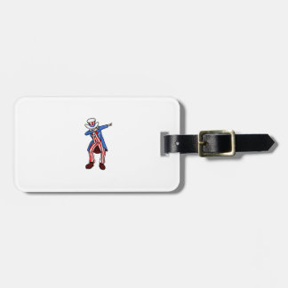 Uncle Sam Dab Luggage Tag