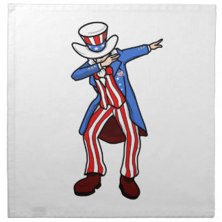 Uncle Sam Dab Napkin