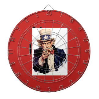 UNCLE SAM DARTBOARD - MAKE $$$ and give to the Gov