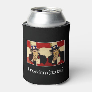 'Uncle Sam (double)' on a Can Cooler