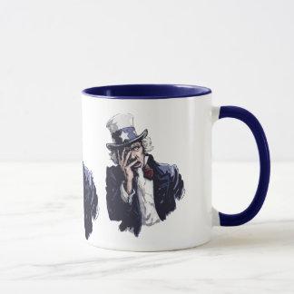 Uncle Sam Facepalm Mug
