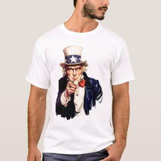 uncle sam fart joke T-Shirt