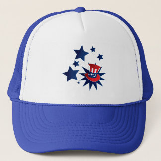 Uncle Sam hat and stars