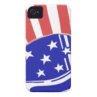 Uncle Sam Hat iPhone 4 Case-Mate Case