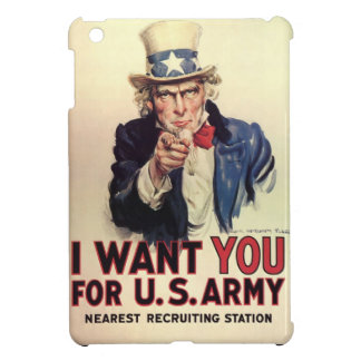Uncle Sam - I Want You Cover For The iPad Mini