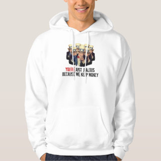 Uncle Sam I Want You Government Money Template Hoodie