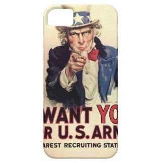 Uncle Sam - I Want You iPhone 5 Case