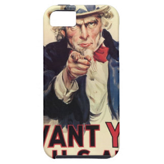 Uncle Sam - I Want You iPhone 5 Covers