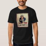 Uncle Sam - I Want Your Money Shirts