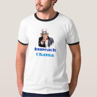 Uncle Sam Impeach Obama T-Shirt