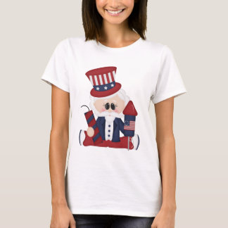 Uncle Sam July Fourth Holiday t-shirt