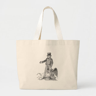 Uncle Sam Large Tote Bag