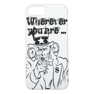 Uncle SAM listens iPhone 7 Case