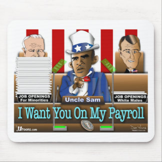 Uncle Sam Obama Mouse Pad