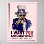 Uncle Sam Obama Poster
