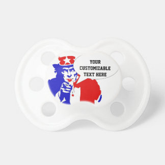 Uncle Sam Pacifier