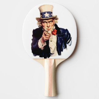uncle sam ping pong paddle