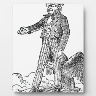 Uncle Sam Plaque