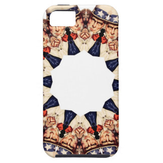 Uncle Sam Pointing Finger Kaleidoscope Case For The iPhone 5