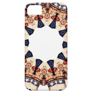 Uncle Sam Pointing Finger Kaleidoscope iPhone 5 Cover
