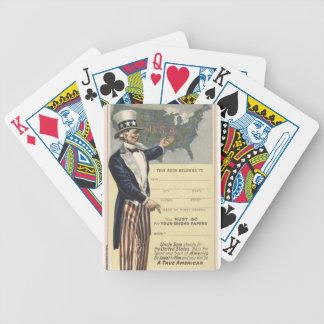 Uncle Sam Poker Deck