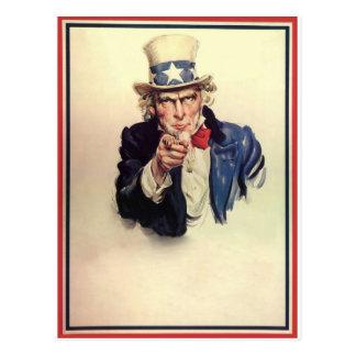 Uncle Sam Propaganda WW1