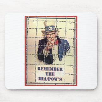 Uncle Sam POW-MIA Mouse Pad