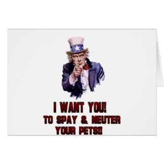 uncle sam red greeting cards