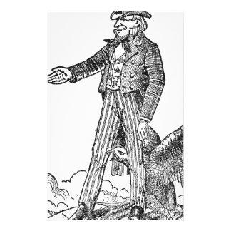 Uncle Sam Stationery