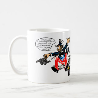 Uncle Sam, Ten More Years mugs